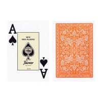 Пластиковые карты Fournier Orange