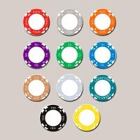 Жетоны двухцветные 39 мм